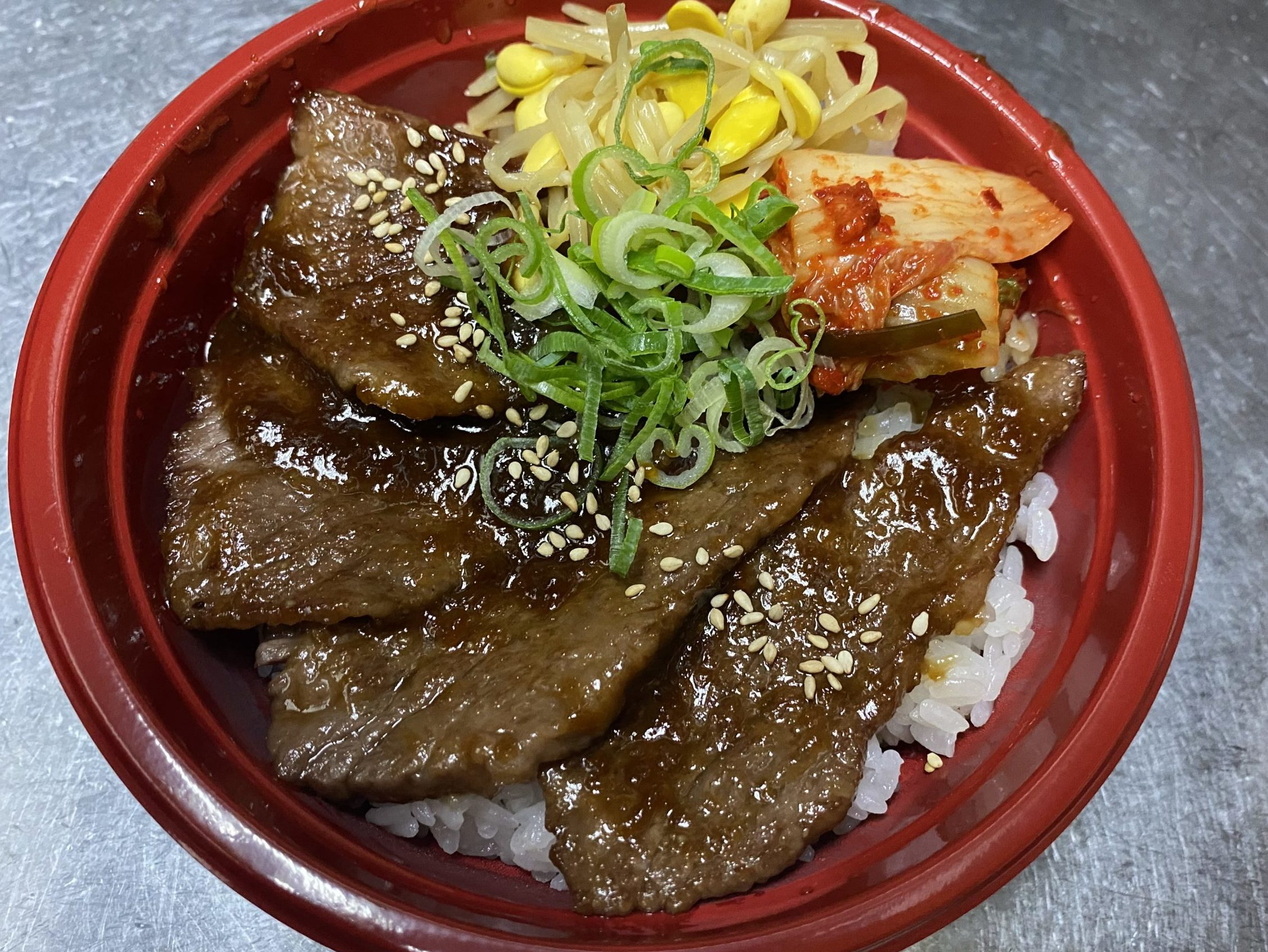 弁当-焼肉丼